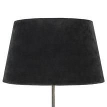 Lampskärm sammet antracit XL