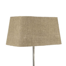 Lampskärm silke brun