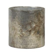 Ljuskopp 16 cm ny antik patina