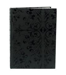 Notebook 20x15 svart stormönst