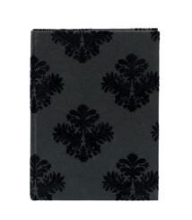 Notebook 20x15 svart medaljong