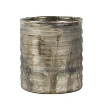 Ljuskopp etsad bränd patina 9,5 cm