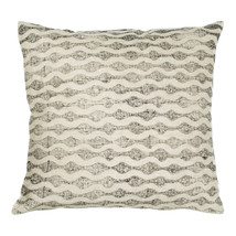 Kuddfodral 50x50 linne mönster