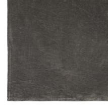 Tove sammetspläd grå
