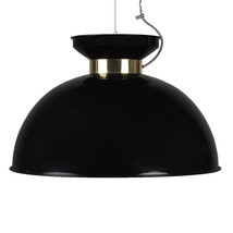 Ceiling lamp black large