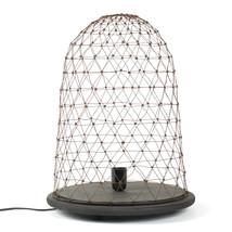 Bordslampa trä/luffarslöjd
