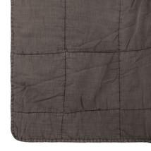 Quilt bomull 180x260 brun