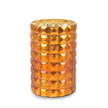 Ljuskopp/vas 16x24 cm orange