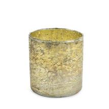 Ljuskopp 16 cm antikguld