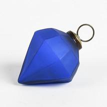 Liten hängdiamant blå