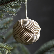 Ball ornament beige