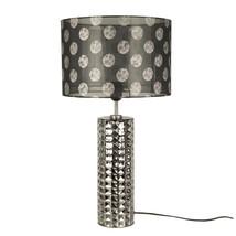 Lampfot mörk ant silver 40 cm