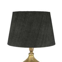 Lampskärm mgrå jute35x45x30