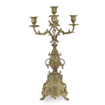 Candelabra 5arm raw brass