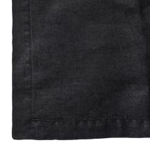 Linnehandduk 50x70 svart