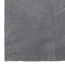 Linnehandduk 50x70 mörkgrå