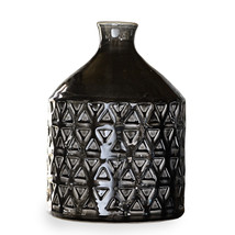 Vase/bottle ceramic black