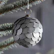 "Paper ball 3"" grey"