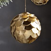 """Paper ball 3"""" gold"""