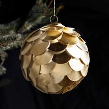 """Paper ball 5"""" gold"""
