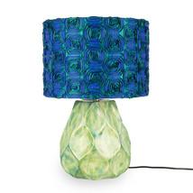 Lampfot keramik turkosgrön