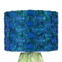 Lampskärm blågrön