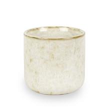 Doftljus kärlek vit keramik