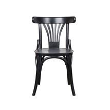 Bistro stol svart