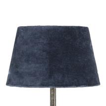 Lampskärm midnattsblå sammet liten