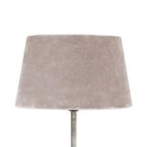 Lampskärm sammet rosa mellan