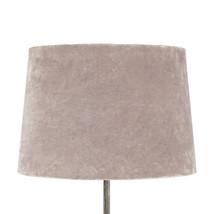 Lampskärm sammet rosa stor