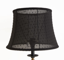 Lampshade with dots bell shape
