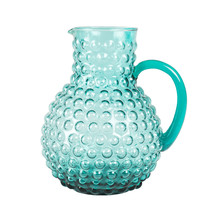 Pitcher in turquoise
