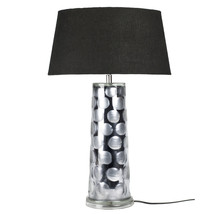 Lampfot glas grå