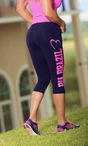 Bia Brazil Short Leggings 3115 Logo Black