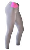 Bia Brazil Leggings 3115 Light Grey/Hot Pink