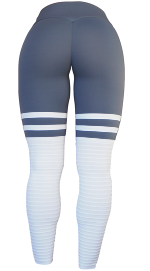 High Sox Leggings Grey/White
