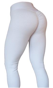 Brazilian Butt Scrunch Leggings White