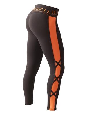 Bia Brazil Leggings 2854 Black / Foxy Orange