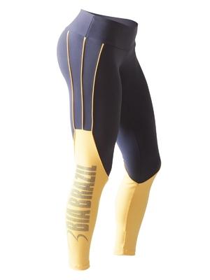 Bia Brazil Leggings 3121 Silhouette Midnight Blue / Yellow