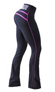 Bia Brazil Bootcut PA52 Stripes  Black/Hot Pink