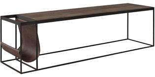 MAGAZINE BLACK Coffee table / Media bench