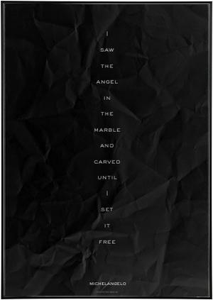 Angel In The Marble Noir