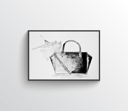 Handbag One Illustration