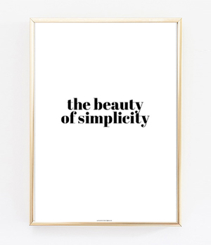 The Beauty Of Simplicity