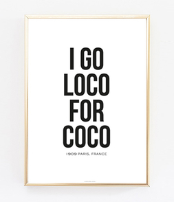 I GO LOCO FOR COCO