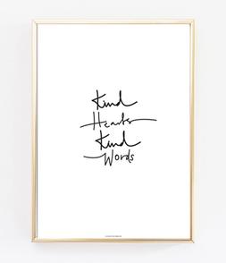 Kind Hearts Kind Words