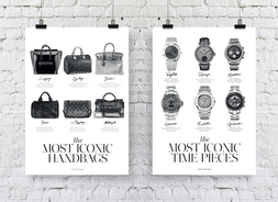 Most Iconic Time Pieces + Most Iconic Handbags