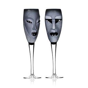 MASQ Tableware Electra/Kubik Champagne