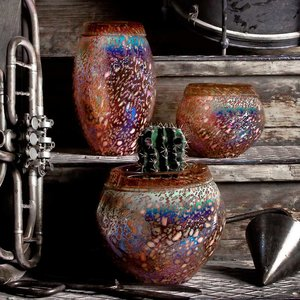 Vase Metallica
